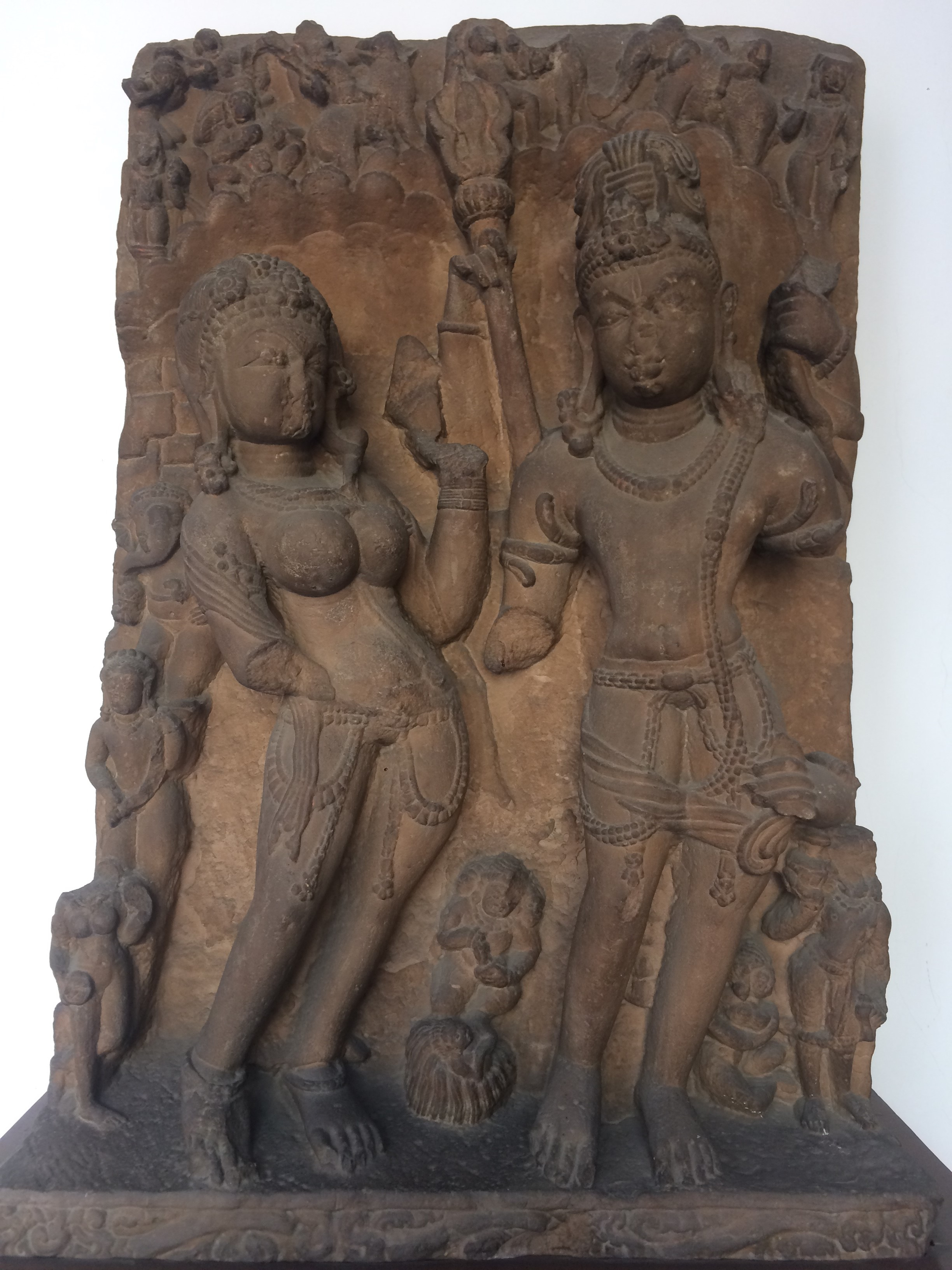 Image: Marking the moment: Kalyāṇasundaramūrti, showing the wedding of Śiva and Pārvatī © National Museum, New Delhi