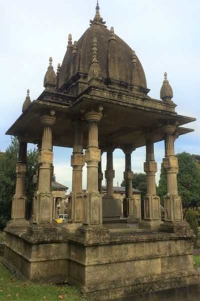 Mausoleum of Raja Ram Mohan Roy, Arnos Cemetery, Bristol. Photo taken by Rige Shiba