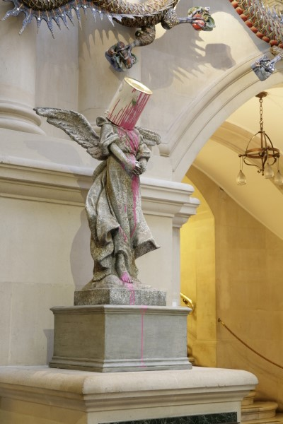 Paint Pot Angel, Banksy, © Bristol Museums, Galleries and Archives http://museums.bristol.gov.uk/details.php?irn=152388