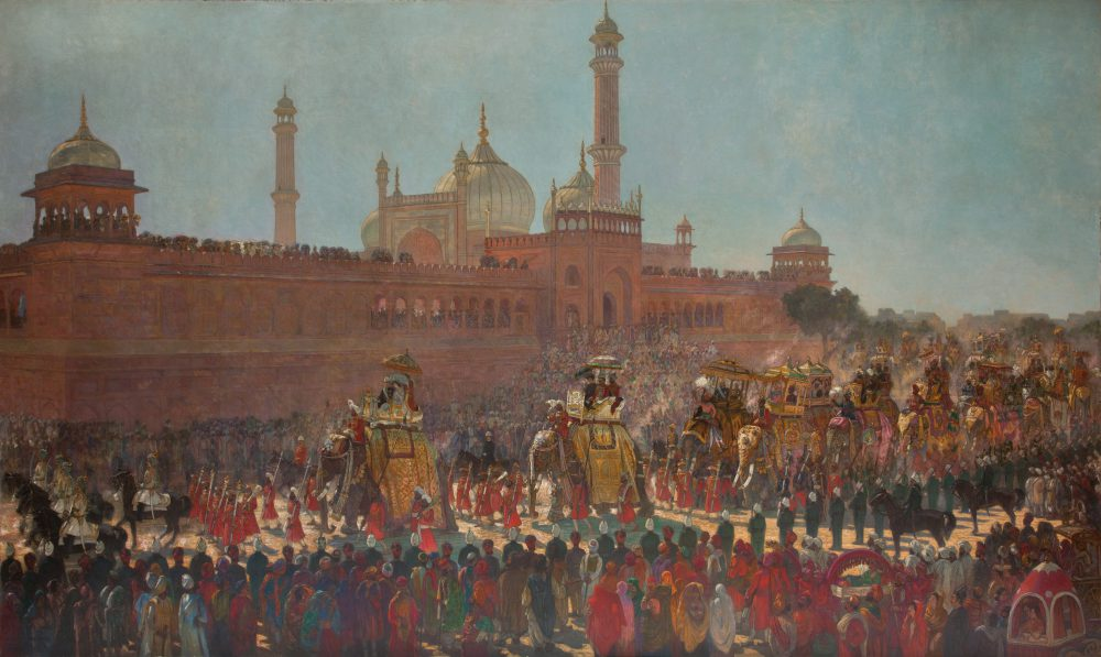 The State Entry into Dehli, Roderick Dempster MacKenzie (1865 – 1941), © Bristol Museums, Galleries and Archives