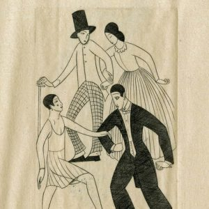 Eric Gill, Clothes For Dignity & Adornment, 1927 © Trustees of the British Museum
